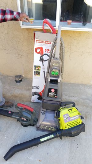 Yard tools and steamvac for Sale in Los Angeles, CA