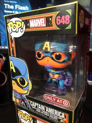 Captain America Funko Pop #648 Black Light for Sale in Huntington Park, CA