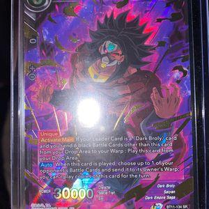 Dragon Ball Z Dark Broly, Uncontrollable Berserker for Sale in Morgan Hill, CA