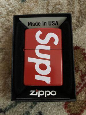 Supreme Zippo Lighter for Sale in Nicasio, CA