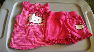 Pink HELLO KITTY baby girls outfit 24months for Sale in Mesquite, TX