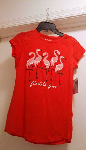 NWT Girls Red Florida Flamingo Shirt for Sale in Tampa, FL