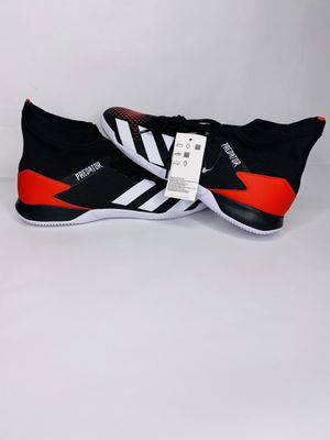New Adidas Predator 20.3 IN Indoor Soccer Shoes Futsal Sz 10 Black-White-Red X. Shipped with USPS Priority Mail. Brand new without original box 100% for Sale in Dundalk, MD