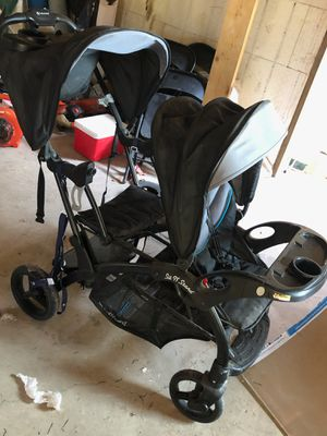 Sit n stand stroller and graco playpen for Sale in Mission, TX