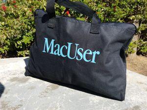 """Apple Macintosh Vintage """"MacUser"""" Messenger/Laptop Bag 17X12 for Sale in Fresno, CA"""