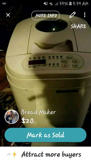 Bread Maker for Sale in Pembroke, KY