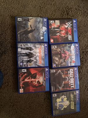 PS4 games for Sale in Lodi, CA