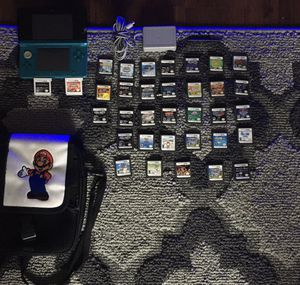 Nintendo 3DS - Includes (35 Games AND protective case/ travel case) for Sale in Miramar, FL