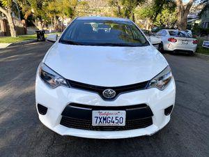 2015 Toyota Corolla - clean title for Sale in Burbank, CA