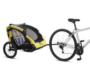 Schwinn Prescott Foldable 2 Passenger Bike Trailer 80lbs NEW for Sale in Naperville, IL