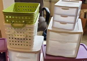 Storage Drawers, Baskets and Containers for Sale in Snohomish, WA