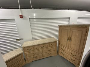 ARMOIRE +DRESSER +NIGHTSTAND/Delivery Negotiable for Sale in Pompano Beach, FL