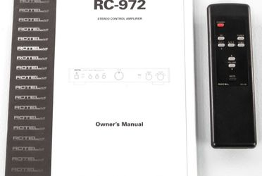 Rotel RC972 Pre Amp Remote Controls for Sale in North Arlington,  NJ
