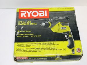 RYOBI 6.2 Amp Corded 1/2 in. Variable Speed Hammer Drill for Sale in Phoenix, AZ