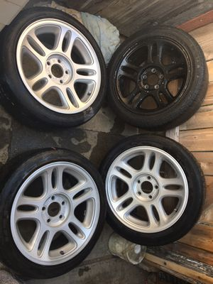Factory mustang gt rims and tires for Sale in Sacramento, CA