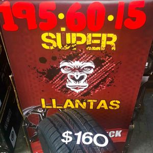 195 60 15 BRAND new set OF tires for Sale in Phoenix, AZ