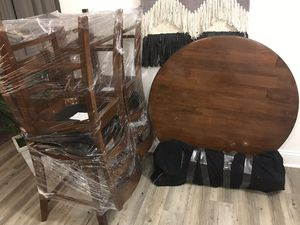 High top table with leaf for Sale in Alameda, CA