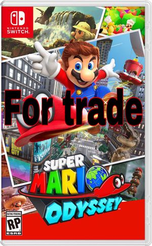 Mario Odyssey for Nintendo switch for Sale in Windermere, FL