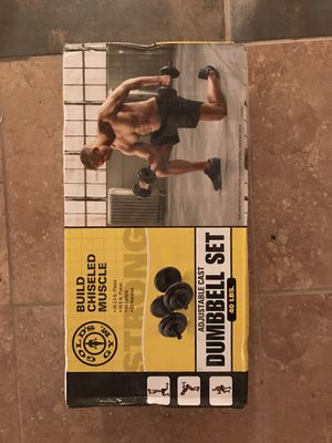 Dumbbell set (40 lbs.) for Sale in San Francisco, CA