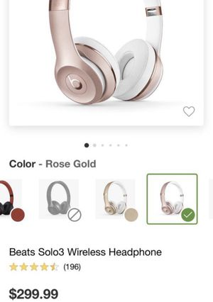 Beats headphones for Sale in Naperville, IL