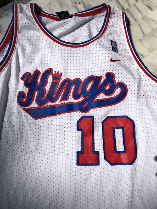 "NBA SACRAMENTO KINGS ""MIKE BIBBY"" JERSEY."