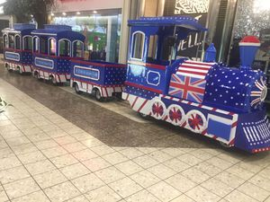 Trackless Train with 5 wagons $28,000 for Sale in Eau Claire, WI