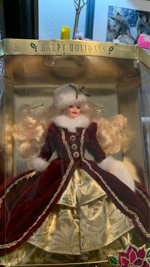 Rare Happy Holidays Barbie for Sale in Winchester, CA