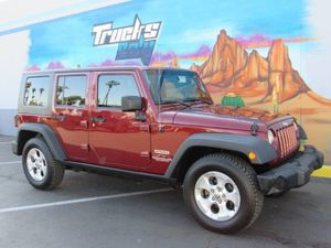 2010 Jeep Wrangler Unlimited for Sale in Mesa, AZ