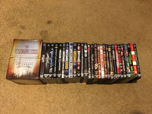 WWE/WWF Wrestlemania and Wrestling DVD Collection for Sale in Menifee, CA