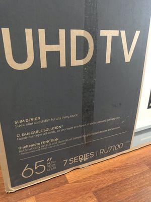 Samsung 65Inch 4K TV Brand New for Sale in Arlington, TX