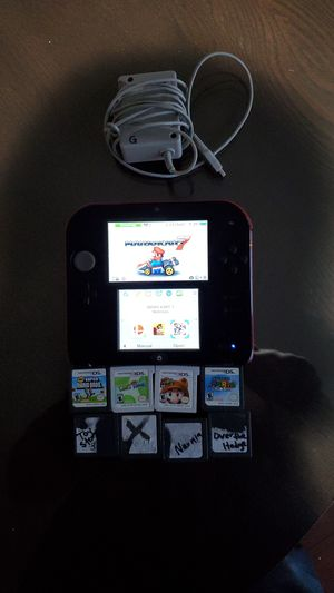 NINTENDO DS WITH 11 GAMES 👌 for Sale in Fontana, CA