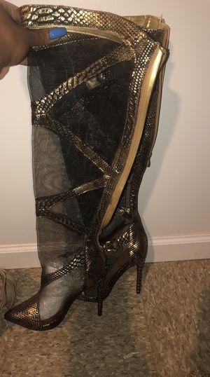 Snakeskin heels for Sale in Detroit, MI