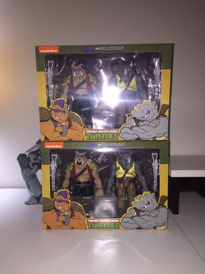 TMNT Neca Rocksteady and Bebop for Sale in Haines City, FL