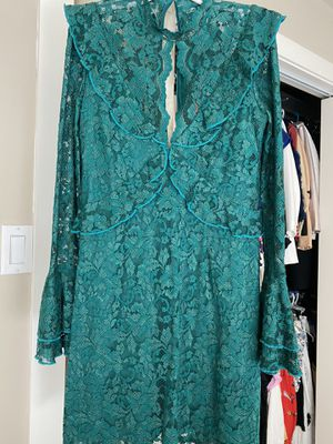 Gorgeous GREEN lace dress - Fits S/M for Sale in Dallas, TX
