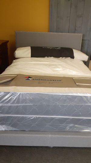 Full size Lola bed w/mattress and FREE DELIVERY for Sale in Irving, TX