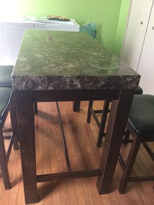 Table & chair for Sale in Germantown, MD