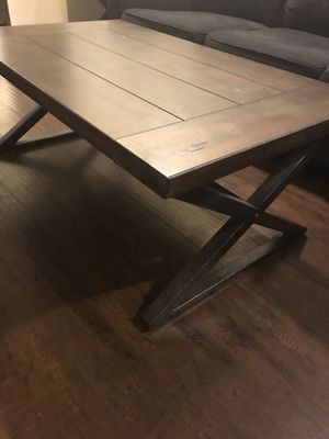 Coffee table and end table for Sale in San Francisco, CA