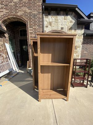 20.00 for 2 IKEA bookcases. Comes with 4 shelves each for Sale in Burleson, TX