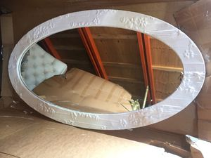 Oval Mirror - Custom Frame for Sale in New York, NY