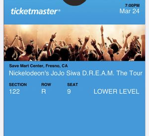JoJo Siwa tickets for Sale in Clovis, CA