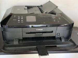 Color Inkjet All In One Printer plus ink for Sale in Deerfield, IL