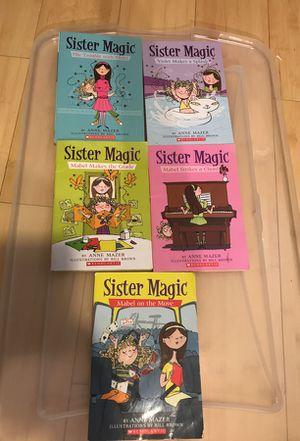 5 sister magic books for Sale in Scottsdale, AZ
