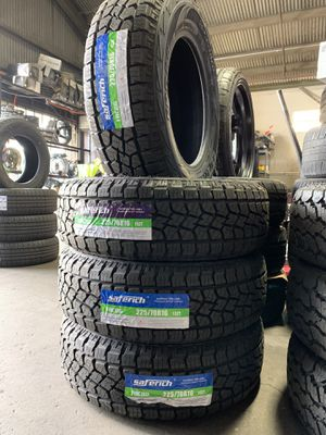225/70R16 SAFERICH ALL TERRAIN TIRES for Sale in Baldwin Park, CA