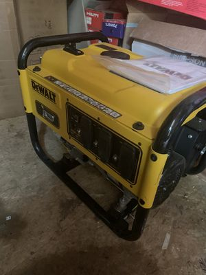 Dewalt DXGNR4000 generator new for Sale in Arvada, CO