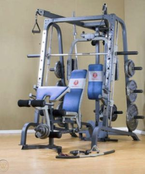 **Pending** Marcy Diamond Smith Machine w/attachments. NO WEIGHTS INCLUDED!!! for Sale in Seattle, WA