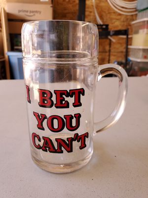 Glass beer mug for Sale in West Frankfort, IL