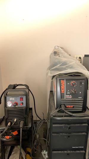 Hobart handler 140 welder and amici cut-40 plasma for Sale in Hurst, TX