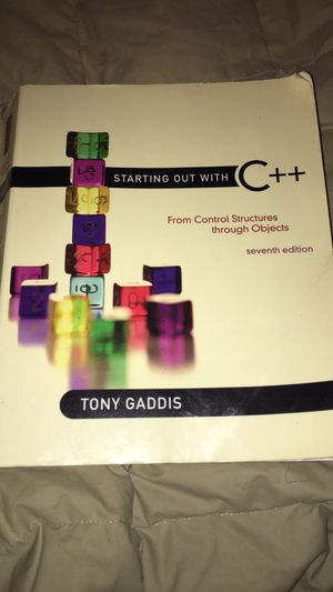 Starting out with C++ Textbook for Sale in Paris, KY