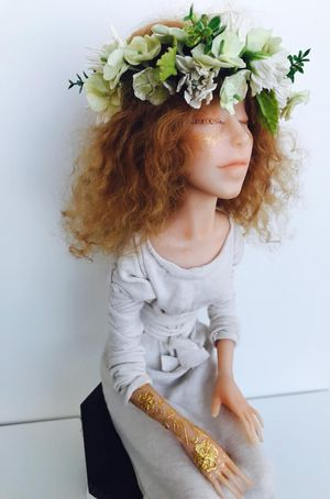 Handmade ART Dolls, something really special for Christmas? for Sale in Delray Beach, FL