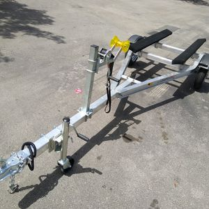 BRAND NEW ALUMINUM JETSKI TRAILER READY FOR PICK UP WITH SUSPENSION NO SPRINGS for Sale in Hialeah, FL